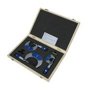 Moore & Wright 0-100mm Metric External Outside Micrometre Set - 215 Series Mic