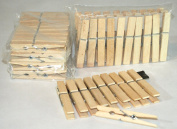 Laundry Clothes Wooden Clips Hanging Pegs set 20 units