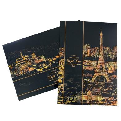 Lago Scratch Night View, London / Paris / Florence / Las Vegas / New York / Hamburg / HongKong / Budapest / Seoul