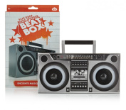 NPW Gifts Beat Box Flat Pack MP3 3D Stereo Speaker