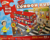 Grafix The Big Red London Bus Floor Puzzle