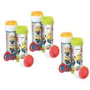 6 x Minions Despicable Me - Puzzle Maze Tub Of Bubbles 60ml