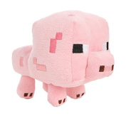 Genuine Minecraft plush Pig 15cm , Baby Animal, soft toy