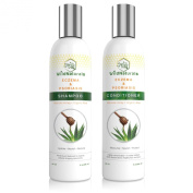 Wild Naturals Eczema & Psoriasis Restoring Shampoo & Conditioner Set, 240ml