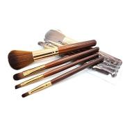 Soft 4Pcs Makeup Eyeshadow Lip Eye Blush Foundation Power Brush Set Cosmetic Tool Kit