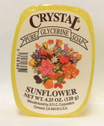 Crystal Glycerine Soap Bars Sunflower