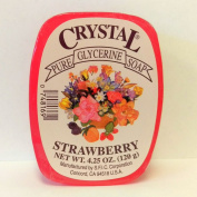 Crystal Glycerine Soap Bars Strawberry