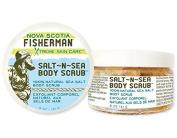 Nova Scotia Fisherman Sea Salt Body Scrub - Kelp & Seabuckthorn - 160ml