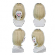 Weeck Anime Ao No Exorcist Shiemi Moriyama Light Godlen Cosplay Wigs
