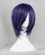 Weeck Anime New Tokyo Ghoul Toka Kirishima Purple Cosplay Wigs