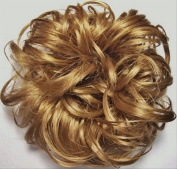 LACEY 7.6cm Pony Fastener Hair Scrunchie - 19 Light Strawberry Blonde