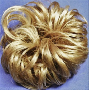 LACEY 7.6cm Pony Fastener Hair Scrunchie - 24H613 Golden Blonde-Vanilla
