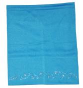 Zaffron Women's Under Scarf Sparkle Hijab Tube Cap Light Blue