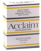 Zotos Acclaim Acid Balanced Hair Perm- Regular Formula by Zotos