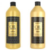 Matrix Oil Wonders Shampoo and Conditioner Set 33.8 Each