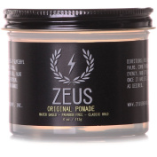 Zeus Original Pomade for Men - 120ml Jar - Paraben Free - Water Based Classic Hold Pomade