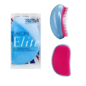 Tangle Teezer Salon Elite Blue Pink Two Tone by Tangle Teezer