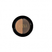 Senna Cosmetics Brow Shaper Duo, Ebony, 0ml