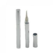 Angelakerry 50pcs 3ml Empty Aluminium silver Twist Pen Cosmetic Container Lip Gloss Aluminium Eyelash Growth Liquid Tube