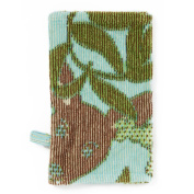 Breganwood Organics Sea Blue Kangaroo Bath Mitt, Outback Collection