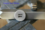 Brand New Supply Guy 4mm Equal Sign Metal Punch Design Stamp