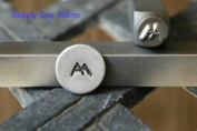 Brand New Supply Guy 5mm Mountains Metal Punch Design Stamp
