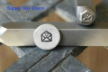 Brand New Supply Guy 5mm Love Letter Metal Punch Design Stamp