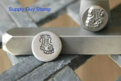 Brand New Supply Guy 8mm Combat Boot Metal Punch Design Stamp
