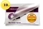 Oregon Lamination Premium Hot 10 Mil Luggage Tag size Laminating Pouches With NO Slot (Pack of 100) 2-1/2 x 4-1/4 Clear