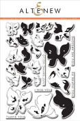 Painted Butterflies Clear Stamp Scrapbooking Card Making
