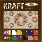 Japanese Duo Kraft/colour Origami