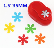 CADY Crafts Punch 3.8cm Paper Punches Craft Punches Snowflake