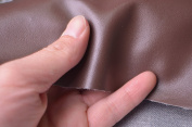 "0,7mm Solid Faux Leather Fabric for Purses Crafts,fake Leather for Home Decor Furniture Upholstery Application,bags/purses Leather,zakka Leather 54"" Wide,sold By Half Yard"