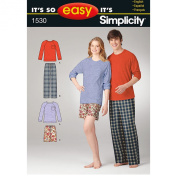 Simplicity It's So Easy Misses' & Men's Loungewear