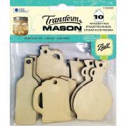 TransformMason Wooden Tags-Drink Tags