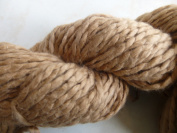 Mocha Latte Light Brown Heavy Worsted Soft Organic Cotton Yarn