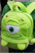 New Mike Wazowski Plush Backpacks High Quality Kids Bags