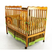 Dream on Me - Classic 2-in-1 pecan Convertible Crib