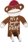 It's A Jungle In Here - Nursery Stand Up Wood Figure