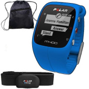 Polar 90057187KT- M400 GPS Training Companion with Heart Rate with Bag - Blue