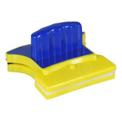 Sun Moon Magnetic Window Cleaner Double-Sided Glass Wiper Blue Yellow