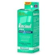 Butler G-U-M Rincinol P.R.N Oral Rinse, Canker Sore Pain Reliver 1770R, 120ml by BUTLER