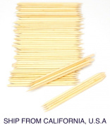 50pcs Facial Eyebrow Wooden Wood Waxing Hair Removal Sticks Applicator