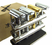 Double Edge Safety Razor Holder - Solid Stainless Steel