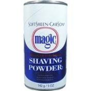 SOFT SHEEN Carson Magic Regular Strength Shaving Powder BLUE 150ml/142g by MAGIC