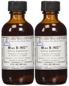 Max B ND - Premier Research Labs - 60ml bottle with dropper - Pack of 2