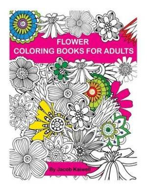 Adult Coloring Book Flower Design Creative Inspirations Bring Balance