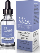 Hyaluronic Acid for Healthy Skin By Lilian Fache - Topical Wrinkle Erasing Serum Hyaluron - 100% Pure Hyaluronic Acid - Highest Quality Serum to Replenish Collagen, Vitamins, and Moisturise - Best Anti-ageing Facial Formula That Reduces Fine Lines and  ..