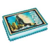 Godzilla Edible Icing Image Cake Topper 1/4 Sheet