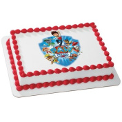 Paw Patrol Yelp for Help Edible Cake Icing Image for 20cm Round Cake